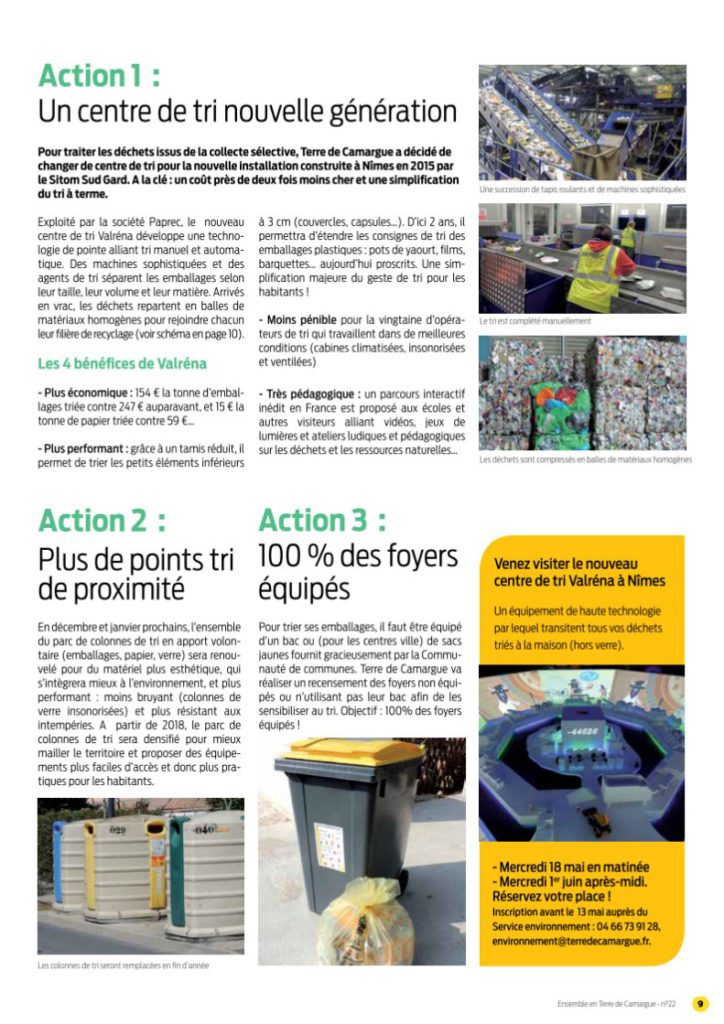 Actions en cours (Page2)